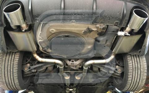 Audi RS6 V10 76mm mit Klappe
