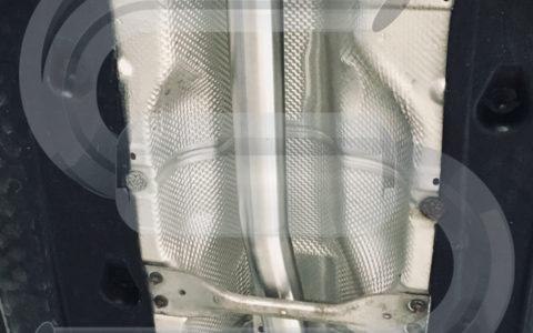 VW Passat 2,0TFSI Downpipe