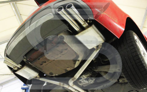 Audi S4 63,5mm mit Klappe